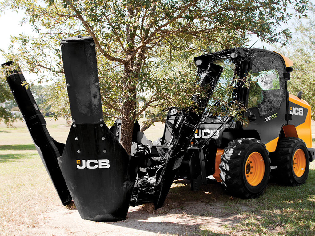 Аренда Трактор JCB 4CX + Пересадчик деревьев