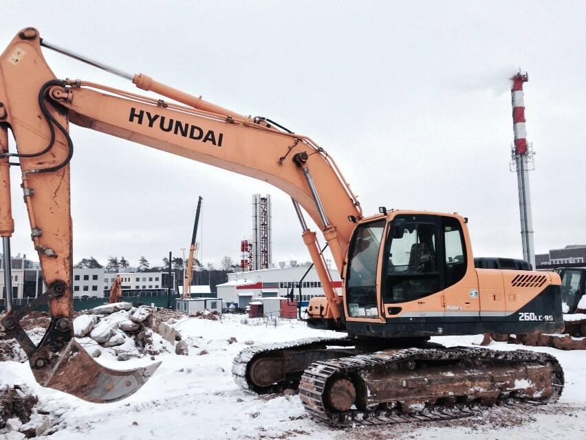 Hyundai R260LC